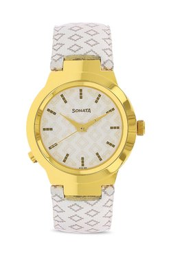 Sonata 90057yl01 Act Safety Analog Watch for Women image