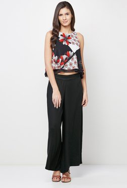 AND Multicolor Floral Print Crop Top