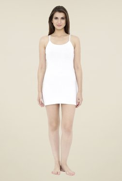 Heart 2 Heart White Solid Camisole