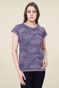C9 Blue Embroidered Top - Mp000000000880406