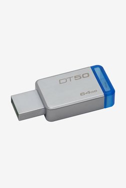 Kingston DataTraveler 50 USB 3.0 64GB Pen Drive (Blue)