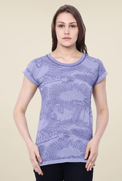 C9 Light Blue Embroidered Top