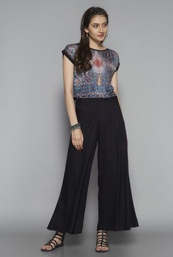 Bombay Paisley by Westside Blue Printed Top