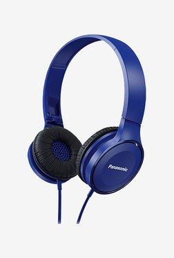Panasonic RP-HF100GC On The Ear Headphone (Blue)