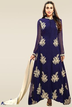 Ethnic Basket Blue Party Wear Salwar Suit