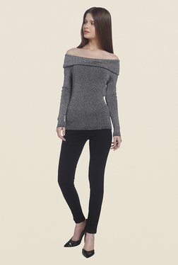 Vero Moda Black Textured Top