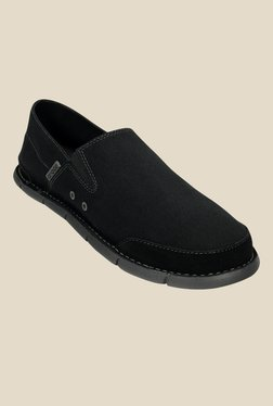 Crocs Cabo Black & Graphite Casual Shoes