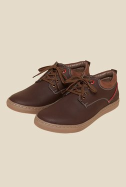 BCK By Buckaroo Javiero Brown Derby Shoes