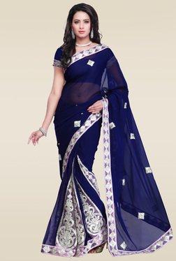Janasya Blue Gotta Patti Saree