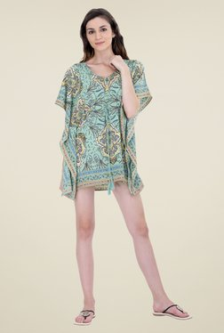 Oxolloxo Green Printed Coverup