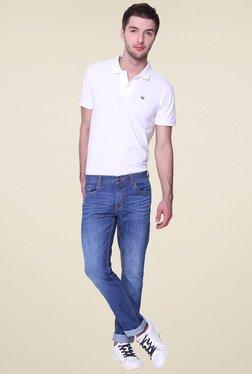 Vudu Blue Cotton Mid Rise Jeans - Mp000000000891578
