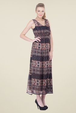 Oxolloxo Multicolor Printed Dress - Mp000000000892945