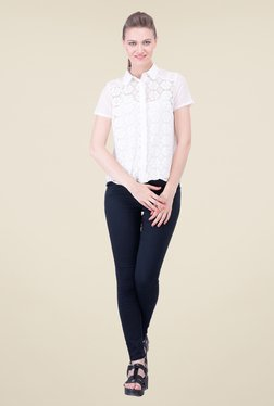 Oxolloxo White Lace Shirt