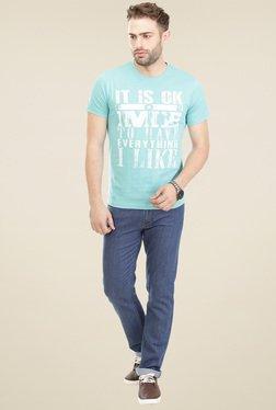 Vudu Blue Cotton Mid Rise Jeans - Mp000000000893386