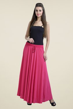 Zola Pink Solid Skirt