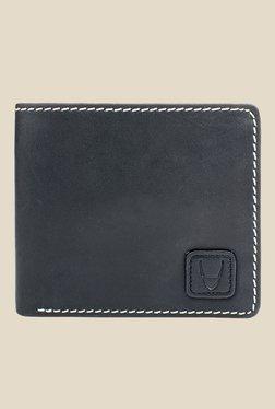 Hidesign 036-01 SB Black Leather Bi-Fold Wallet