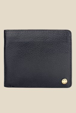 Hidesign 036-02 SB Black Leather Bi-Fold Wallet