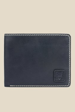 Hidesign 490-01 SB Black Leather Bi-Fold Wallet
