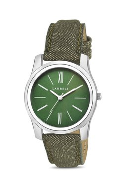 Laurels Lo-Orc-040407 Orchid Analog Watch For Women