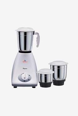 08a454fe239 Bajaj Popular 410154 450W 3 Jars Mixer Grinder (White)