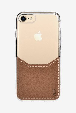 Aviz Soft Back Case Cover for Apple iPhone 7 (Brown)