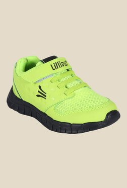 Lilliput Asteroid Green & Black Casual Shoes