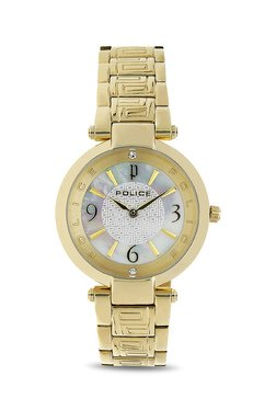 Police PL14708MSG28MJ Attraction Analog Watch For Women