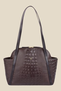 Hidesign New York 01 SB Brown Leather Shoulder Bag