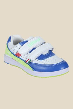 Lilliput Kiwi White & Blue Casual Shoes