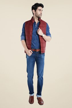 Park Avenue Red Quilted Jacket