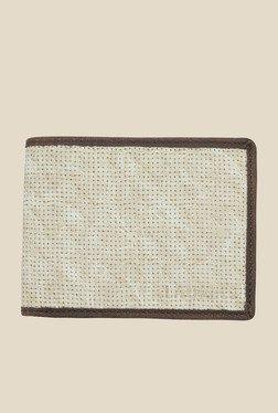 Laurels Dexter Beige Textured Wallet