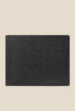 Laurels Dexter Black Textured Wallet