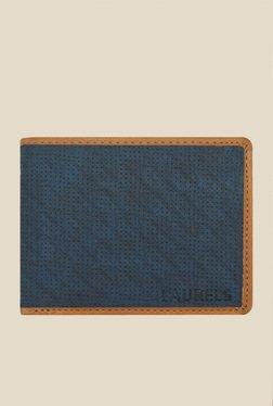 Laurels Dexter Blue Textured Wallet