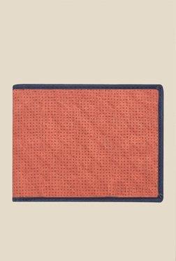 Laurels Dexter Red Textured Wallet