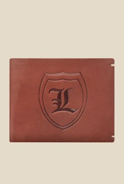 Laurels Signature Brown Leather Wallet - Mp000000000899675