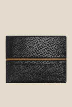 Laurels Titan Black Textured Wallet
