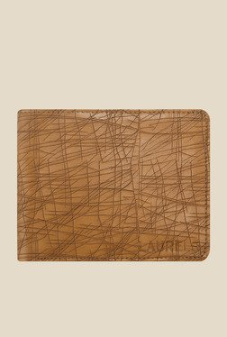 Laurels Hornet Tan Textured Wallet