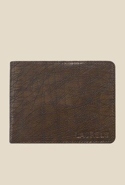 Laurels Hornet Brown Textured Wallet