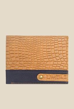 Laurels Ranger Tan Textured Wallet