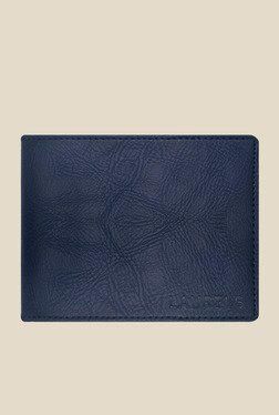 Laurels Urbane Blue Solid Wallet