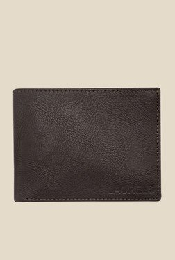 Laurels Urbane Brown Solid Wallet