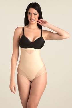 Swee Ruby High Waist Brief Nude Solid Shapewear