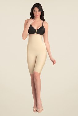 Swee Spark High Waist & Full Thigh Nude Solid Shapewear