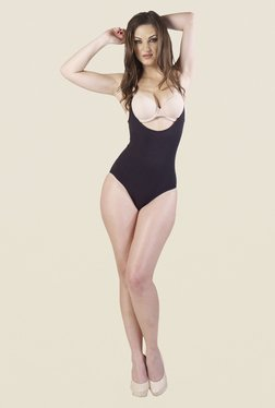 Swee Tansy Full Body Black Solid Shapewear
