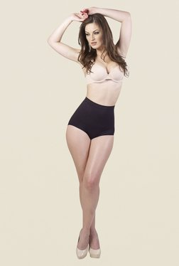 Swee Daisy Low Waist Black Solid Shapewear