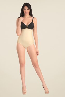 Swee Glow High Waist Brief Nude Solid Shapewear