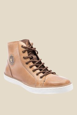 Yezdi Brown Casual Sneakers