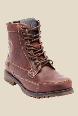 Yezdi Brown Casual Boots