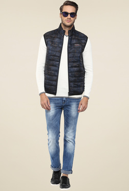 Mufti Grey Sleeveless Jacket
