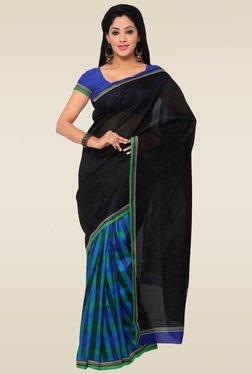 Saree Mall Black Printed Saree